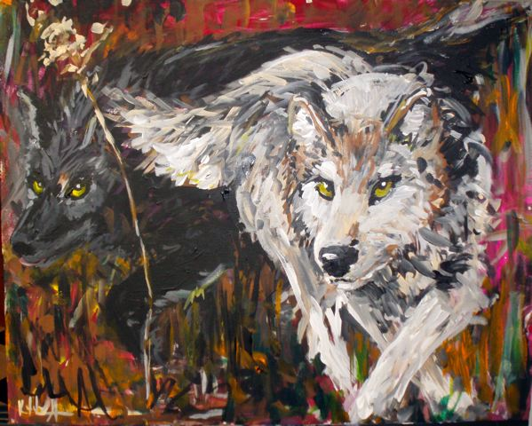 Painted in 2008 by Kathryn Armstrong