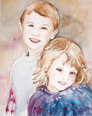 Watercolor by Kathryn Armstrong 12/2008