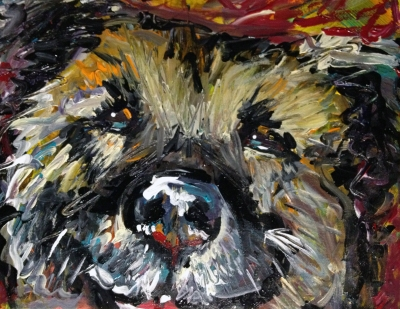 Old Paint, Painting, Dog